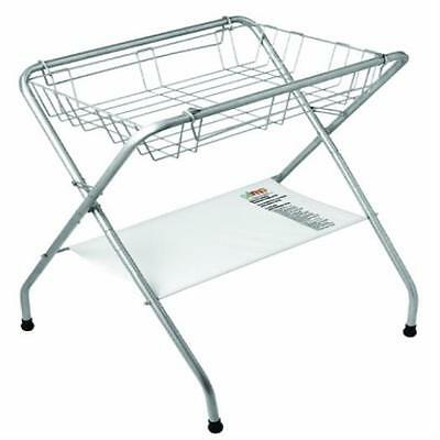 Primo Folding Bath Stand, Silver Gray Compact MYTODDLER New