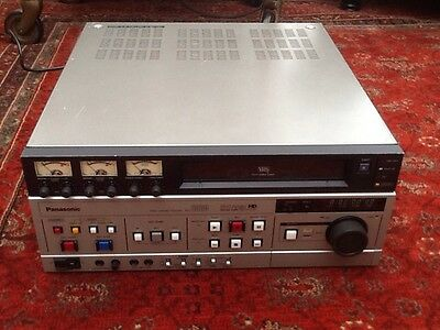 Panasonic Ag-6500 Vhs Editing Video Cassette Recorder + Manuals & Leads.