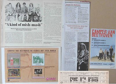 Camper Van Beethoven : Cuttings Collection