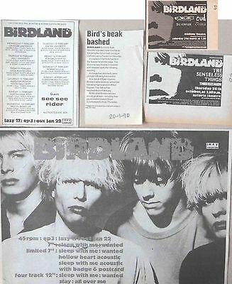 BIRDLAND : CUTTINGS COLLECTION -adverts-