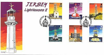 Jersey. FDC/Mint/Used. Lighthouses 11. 15/04/2003.