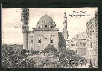 formidable CPA Cairo, the mosque of the citadel
