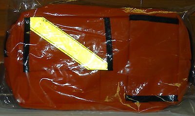 Orange Emt Ems Paramedic Medical Technician Tool Pouch Fanny Pack & Belt