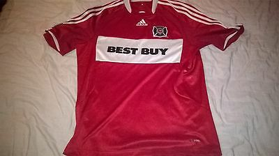 Chicago Fire MLS football shirt (Large)