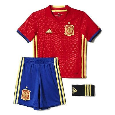 Spain Kids Home Mini Kit 2016/17