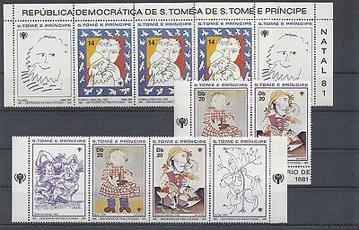 G 71840/ Art Gemälde Painting ** MNH S. Tome Picasso