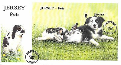 Jersey. FDC. Pet's. 09/09/2003.