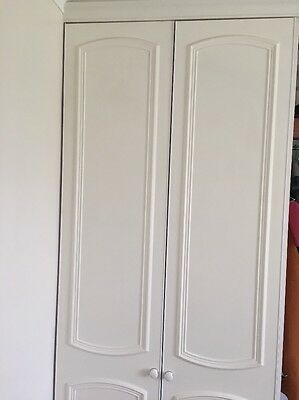 Six White Wardrobes Doors To Put On A Fitted Bedroom Suite.