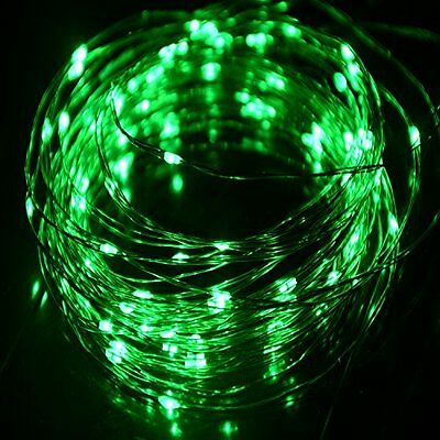 St Patricks Day Green Lights LED Long String Power Supply PartyDécorWedChristmas