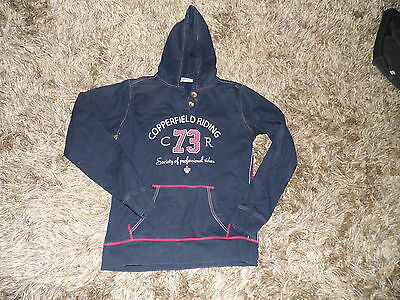 Copperfield Equestrian Hooded Top Hoody Size Small Vgc