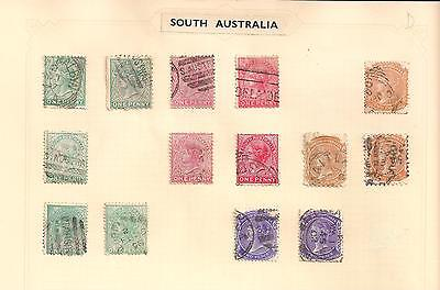 South Australia, collection of quality stamps