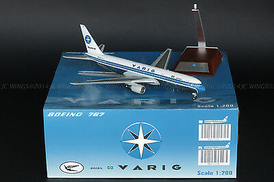 "Varig Boeing 767-300 ""Old Color""Reg:PP-VQI JC Wings 1:200 Diecast Models XX2717P"