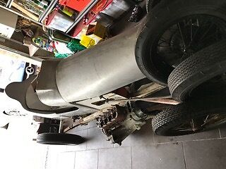 Austin 7 special wragg single seater project