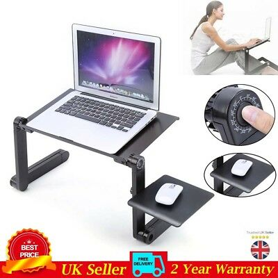 DIY Adjustable Laptop Table Stand Lap Lazy Sofa Bed Tray Computer Notebook Desk