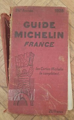 Guide rouge Michelin France 1928