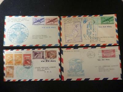 Collection of Pan Am First Flights Covers
