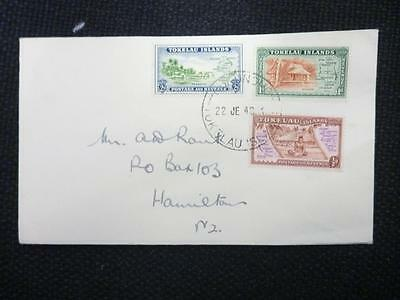 Accumulation of Tokelau Islands First Day Covers (60)(1948)