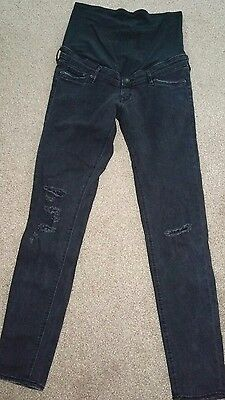 Womens maternity H&M mama skinny jeans in a 12