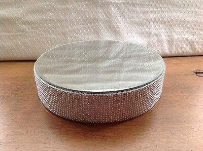 Diamanté Wedding Cake Stand Pedestal