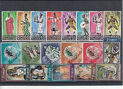K 49832/ Afrika Lot / Mixture gest / used Togo