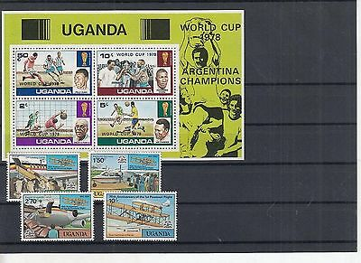 K 49839/ Afrika Lot / Mixture ** MNH Uganda mit Block
