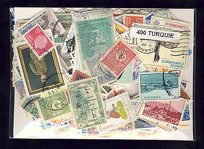 Turquie - Turkey 400 timbres différents