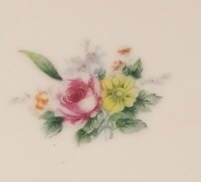 """Sone China Made in Japan """"SON25"""" pattern, Dessert  Bread Plate - Flowers"""
