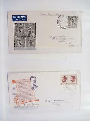 Collection of Australian First Day Covers (1940s-70s)(52 Covers)