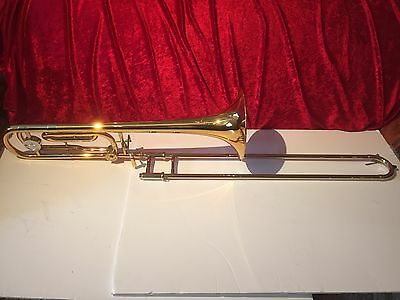 Special Offer JP Rath 331 medium  Large Bore Bb /F Tenor Trombone With Pro Case