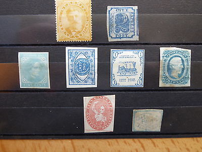 "UNITED STATES OF AMERICA  ETATS UNIS  USA "" Local stamps"" Voir scan"