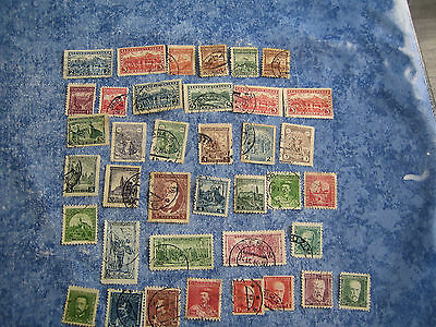 Lot Timbres Tchecoslovaquie