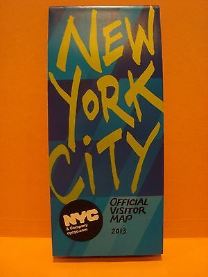 New York City Official Visitor Map Nyc Guide Manhattan Highlights Bdway Theaters