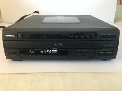 Aiwa Compact Disc Player DX-Z9300M (5 disc multi play)