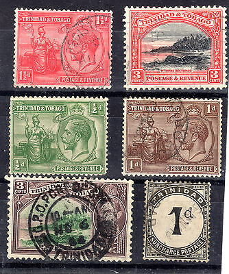 Trinidad  6 Fine used items items mainly  KGV
