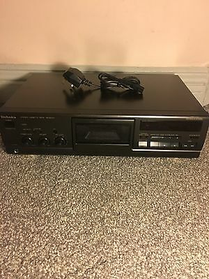 Technics Rs-Bx501 Stereo Cassette Deck *japan Made, Dolby Hx Pro*