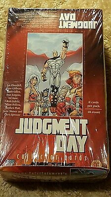 Judgement Day Sealed Box 48 Pack of Trading Cards Comic Images