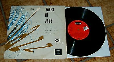"COLEMAN HAWKINS  BUDDY TATE  10""  LP  SAXES IN JAZZ  deutsche London Clubauflage"