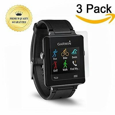 Premium Garmin Vivoactive 3-Packs Tempered Glass HD Clear Film Screen Protectors