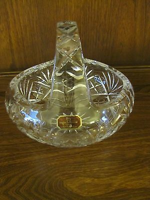 Doulton International Large Crystal Basket. Beautiful condition. Great gift