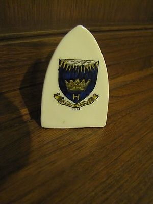 Crested Ware Lots listed~Henley on Thames 1624 Crest~Flat Iron