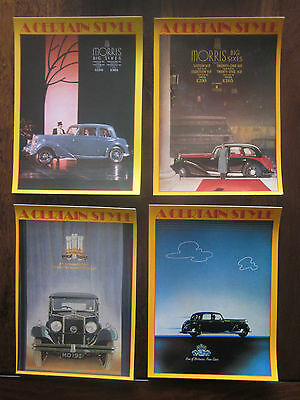 Classic Cars - Athena postcards from the 1980s - 'A Certain Style' (4)
