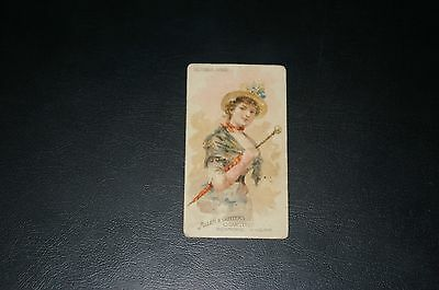 Allen & Ginter card - Parasol Drills
