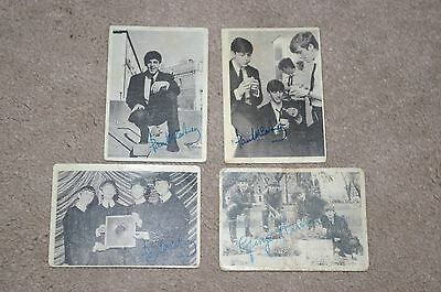 A & BC gum cards - Beatles - black/white cards