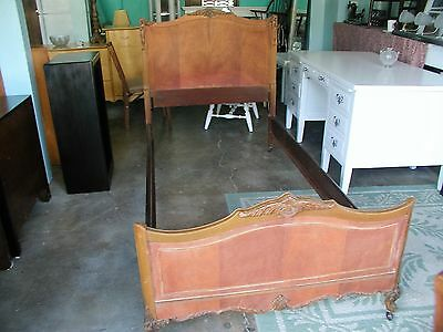 Antique Twin Headboard And Frame