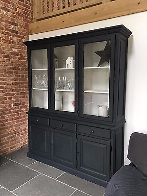 Large Painted Grand Illusions Glazed Bookcase - RRP £1500