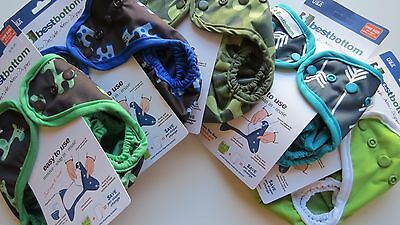 NEW NWT Lot of 5 Best Bottoms AI2 Snap Shells