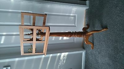 Fully Adjustable Solid Pine Double Sided Sheet Music Stand