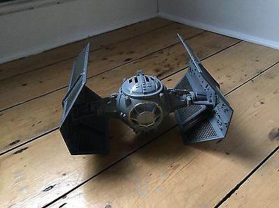 Star Wars Vintage Tie Fighter Advanced Kenner 1978 With Working Electronics.
