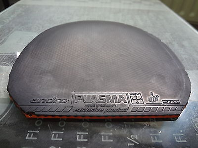 used table tennis rubber Andro Plasma 380  W149mm x H156mm