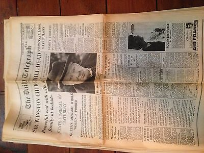 Old Newspapers 1930's to 1970's